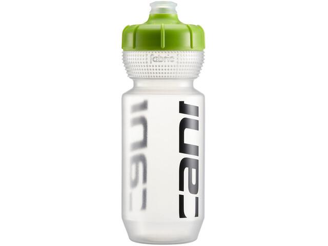 Cannondale Logo Bottle 600ml clear/green
